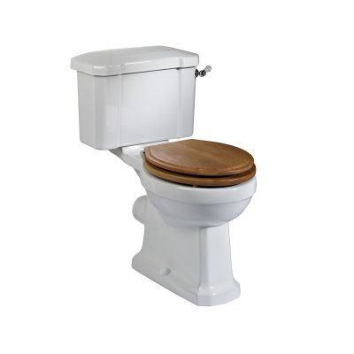 Vitoria Close Coupled Pan & Cistern (Excludes seat)
