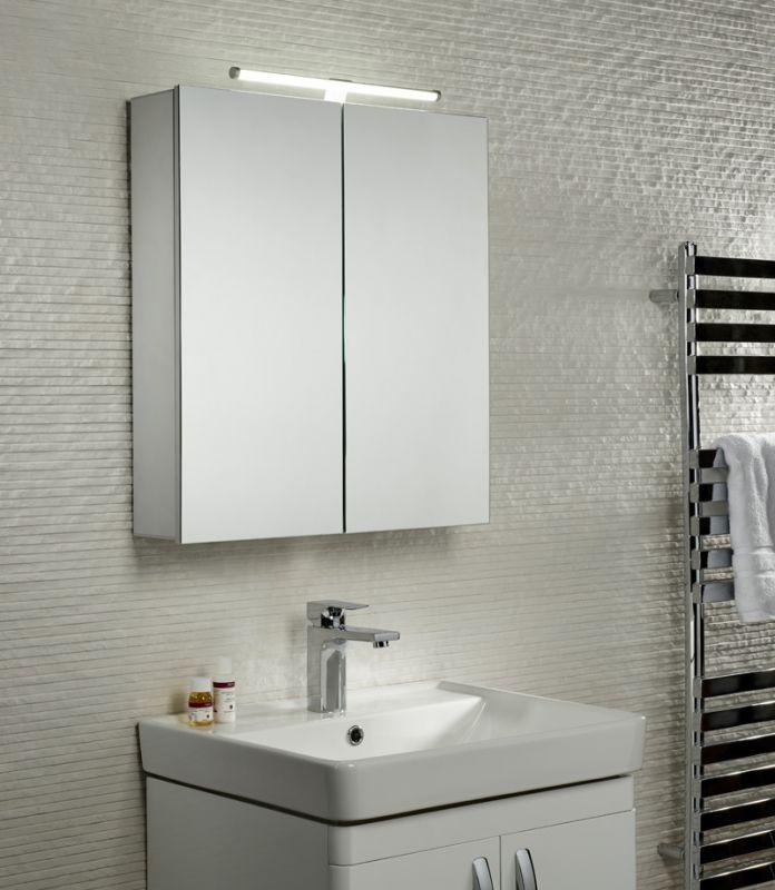 Conduct Double Mirror Door Cabinet Tavistock Bathrooms