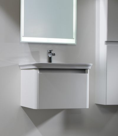 Equate 600 Wall Mounted Unit Gloss White