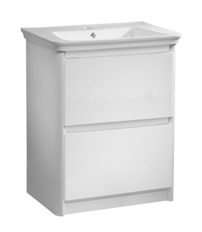 Equate 700 Freestanding Unit Gloss White