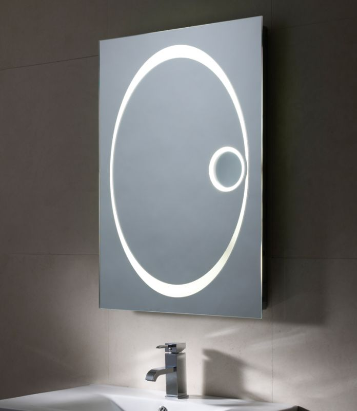 Vapour Backlit Mirror