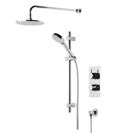 Quantum Concealed Dual Function Shower System