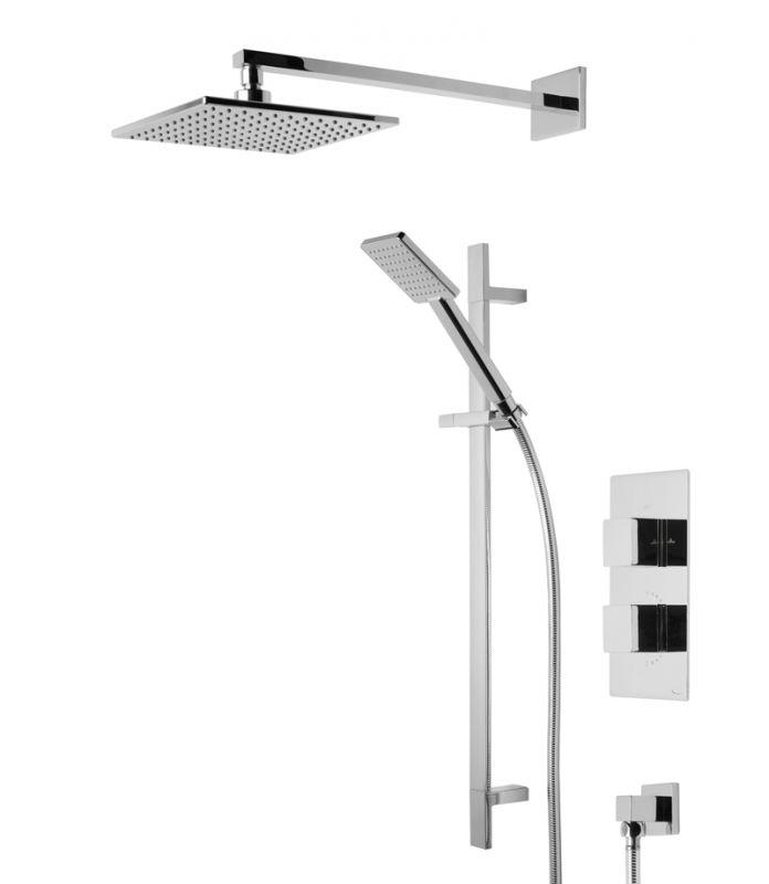 Index Concealed Dual Function Shower System - Tavistock Bathrooms