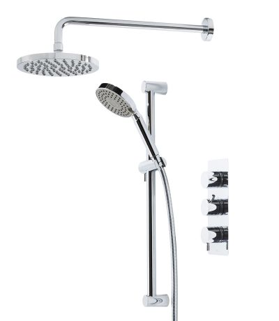 Kinetic Concealed Dual Function Shower System