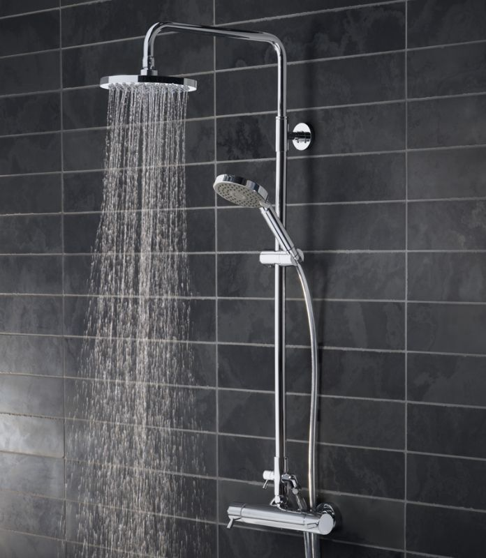 Kinetic Bar Valve Shower System With Fixed Shower Head - Tavistock ...