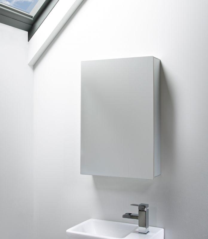 Balance Single Mirror Door Cabinet Tavistock Bathrooms