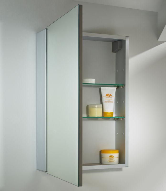 Balance Single Mirror Door Cabinet - Tavistock Bathrooms