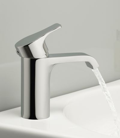 Blaze Basin Mixer with Click Waste
