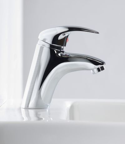 Cruz Basin Mixer without Pop Up Waste