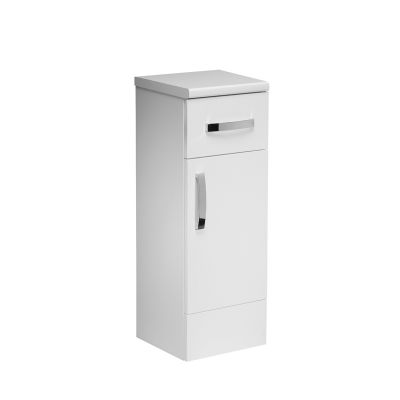 Courier 300 Floor Cupboard White