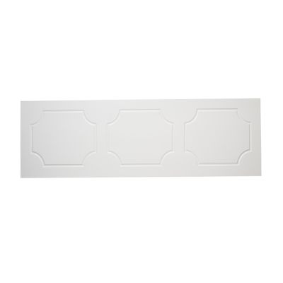 Milton 700mm End Bath Panel White