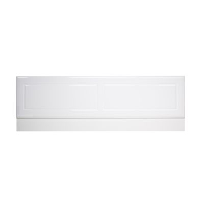 Aspen 1700mm Front Bath Panel White