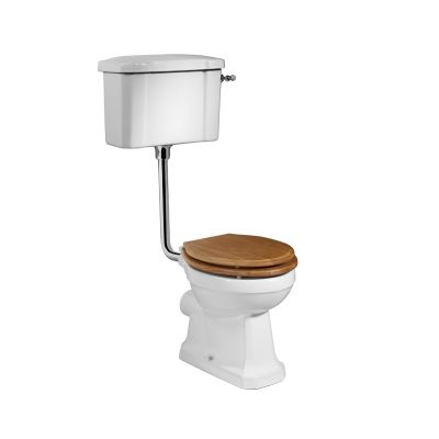 Vitoria Low Level Pan & Cistern (Excluding seat)
