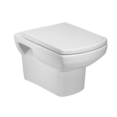 Vibe Wall Hung WC Pan with Soft Close Seat