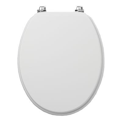 Millennium white toilet seat