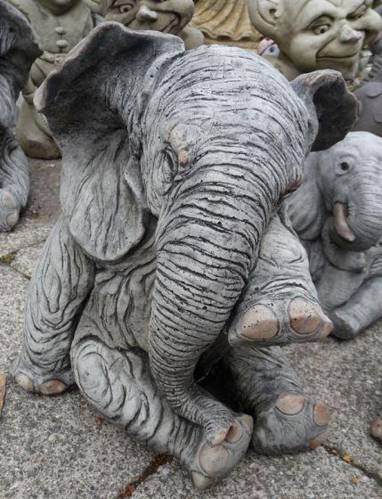 Elephant Crying Large