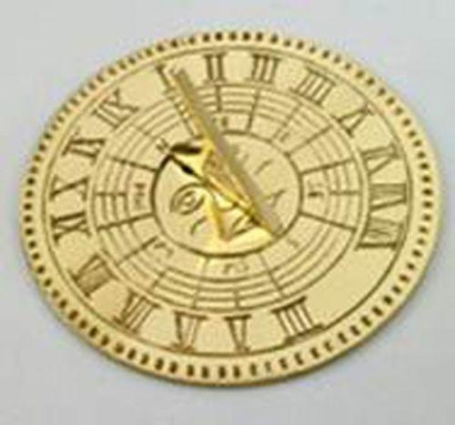 Small Brass Sundial