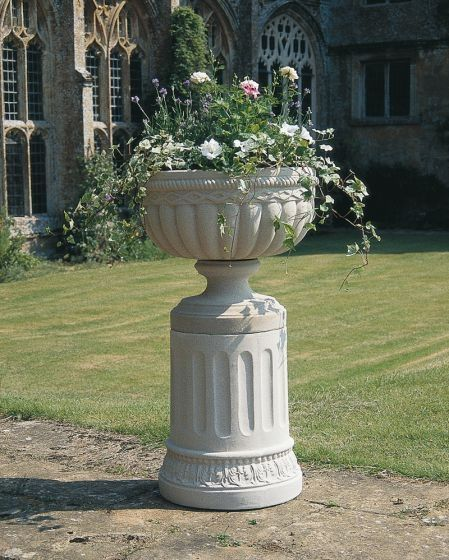 Queensbury Urn and Pedestal