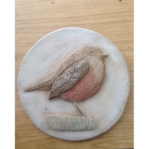 Robin Wall Plaque