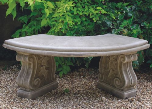 Redford Curved Bench