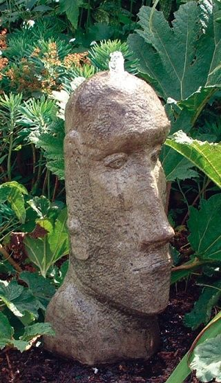 Easter Island Head Fountain