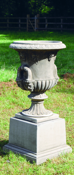 Regency Urn on Plinth