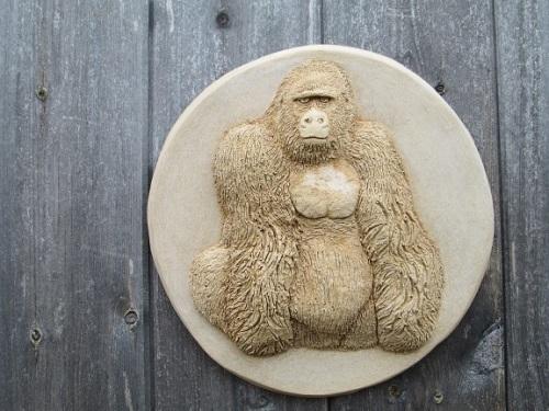 Gorilla Wall Plaque