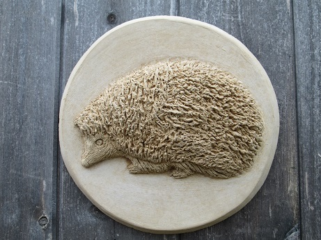 Hedgehog Wall Plaque