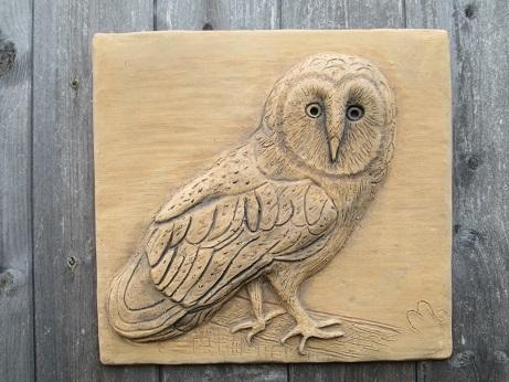 Barn Owl Wall Plaque