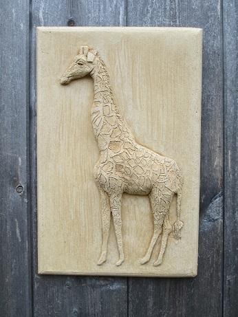 Giraffe Wall Plaque