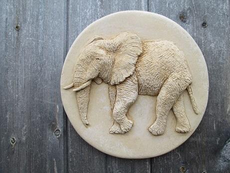 Elephant Wall Plaque