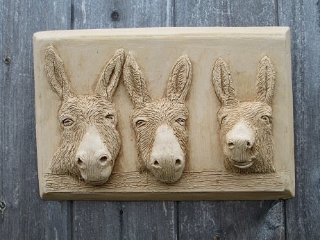 Donkey Wall Plaque