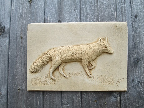 Fox Wall Plaque