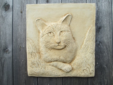 Cat in Tree Wall Plaque