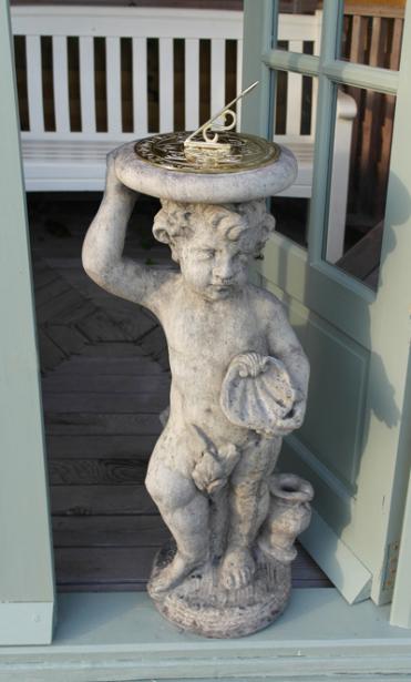 Cherub Brass Sundial