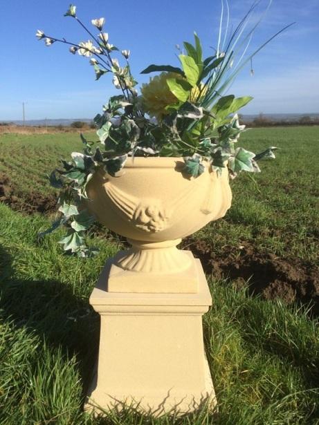 Chalice Urn & Pedestal