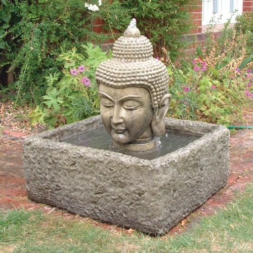 Buddha Head Fountain