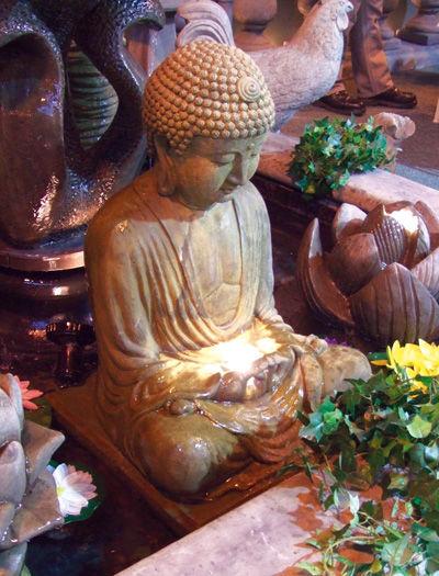 Meditating Buddha Fountain