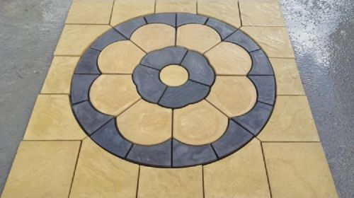 Rose Paving Square