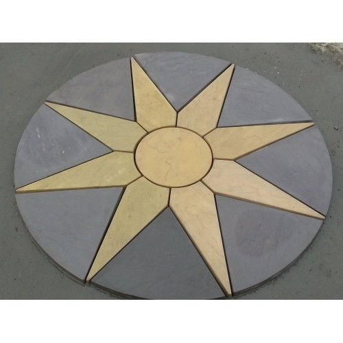 Star Circle Paving Set