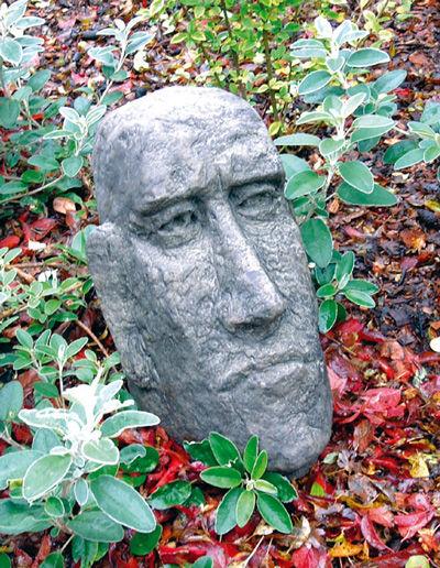 Small Moai Head