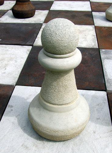 Pawn in Sandstone