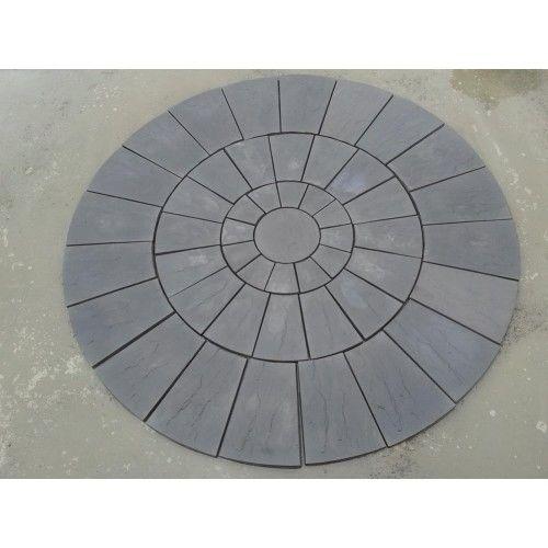 Charcoal Paving Set