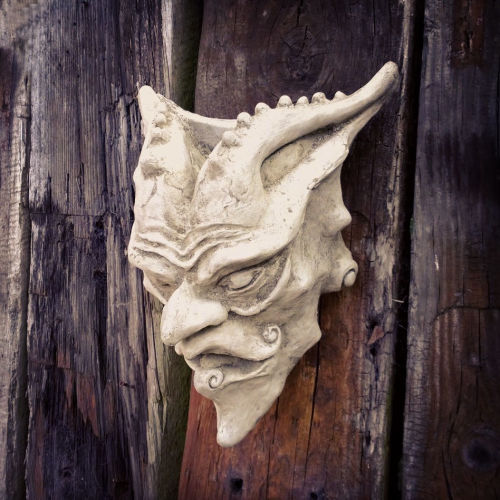 Devil Wall Plaque