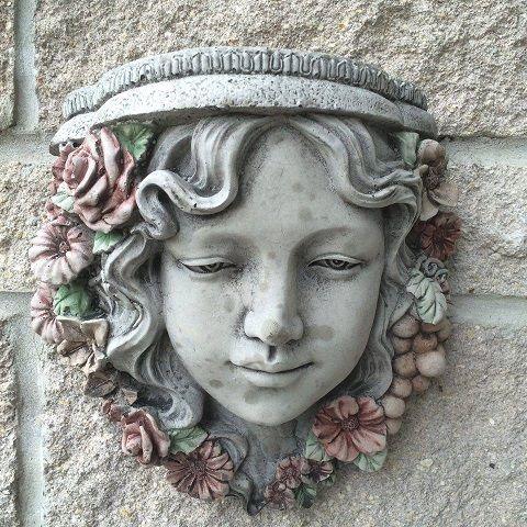 Garden Girl Plaque