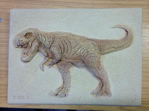 T - Rex Wall Plaque