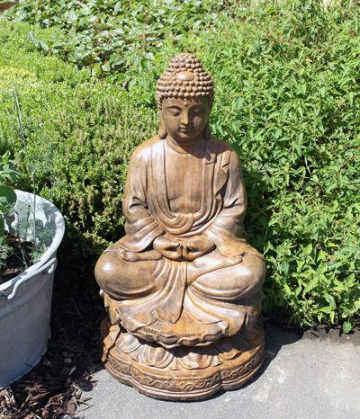 Lotus Umber Buddha