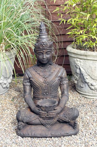 Serene Umber Buddha