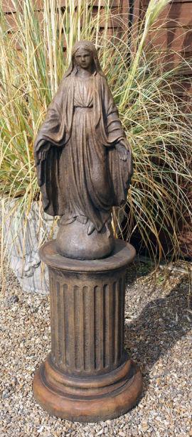 Mary on Column
