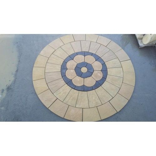 Large Charcoal Circle
